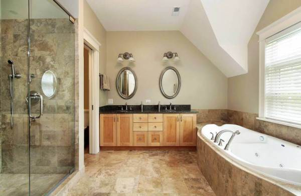 Cost of High-end Bathroom Remodel