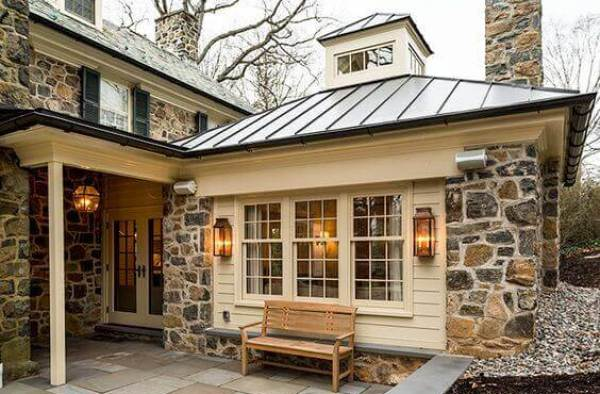 Home Addition with a Standing Seam Roof