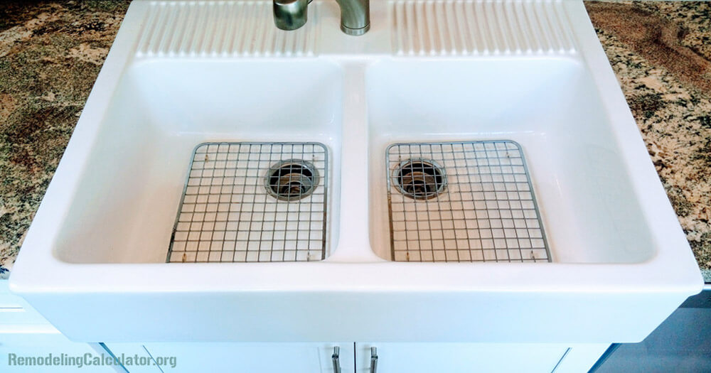 Exceptionnel IKEA Domsjo Double Bowl Sink With Stainless Steel Grids