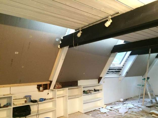 Post and Beam Home - Ceiling Insulation