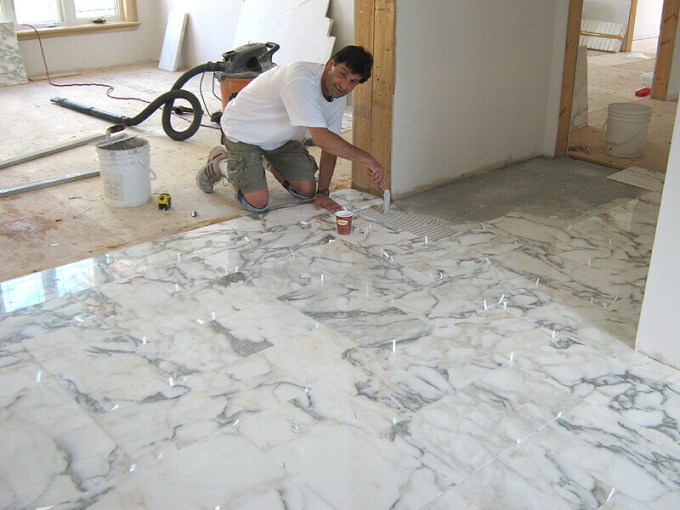 Tile Floor Installation Cost   9 Hidden Factors That Increase Your     Professional Tile Floor Installation