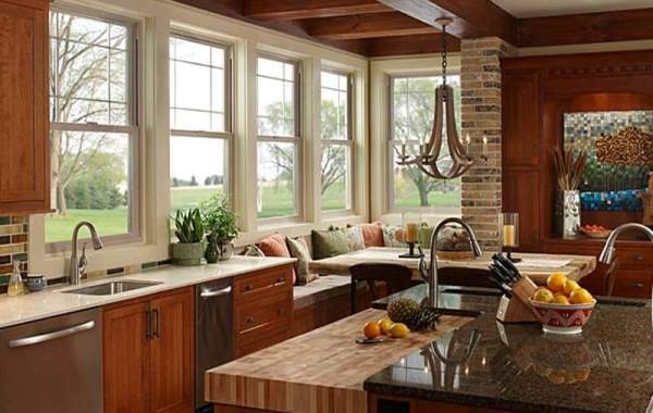 Replacement Windows in Modern Kitchen