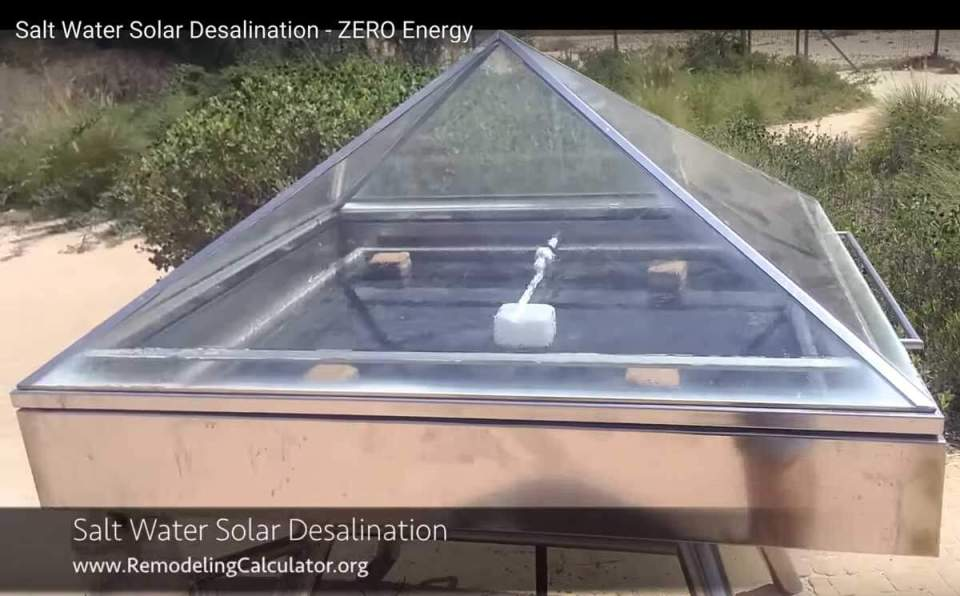 Solar SALT Water Desalination