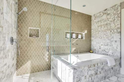 Astounding Tile Installation Cost For A Bathroom Remodel Remodeling Home Interior And Landscaping Ologienasavecom