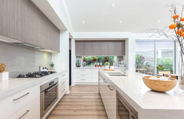 custom kitchen cabinets - modern style