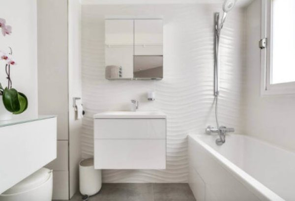 compact bathroom fixtures for a small space