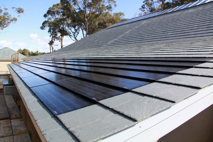Added To All This Is The Idea That A Slate Roof Can Incorporate Modern  Technology, Or What Greenstone Slate Calls Its Integrated Solar Panel  Option.