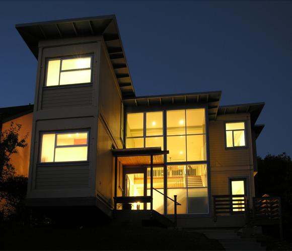 Ocean container house California