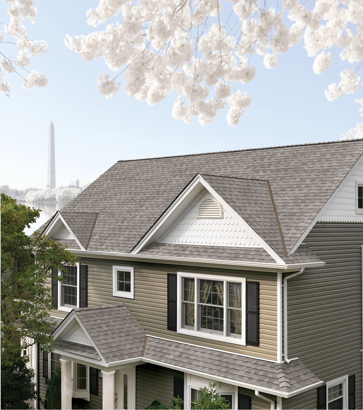 Picture Of A Gable Roof: Top 20 Roof Types: Costs, Design Elements, Pitch, & Shapes