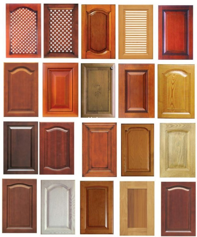 solid wood cabinet doors