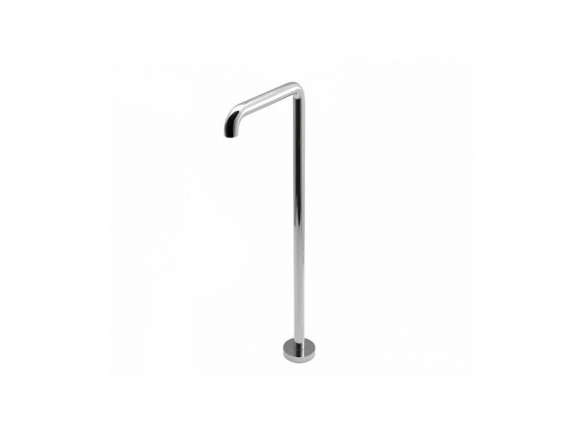 flyte floor mounted tub spout