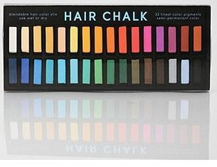 uo hair chalk rainbow set remodelista