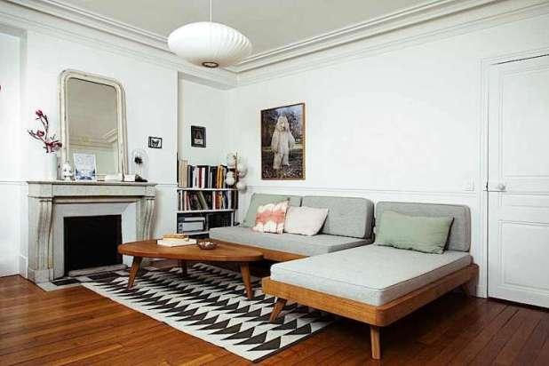 A Scandi Furniture Designer At Home In Paris Remodelista. Danish Design Sofa Bed   Okaycreations net