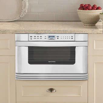 applicances sharp microwave drawer