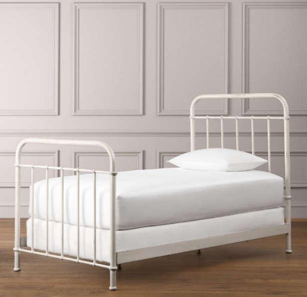 Millbrook Iron Bed Remodelista