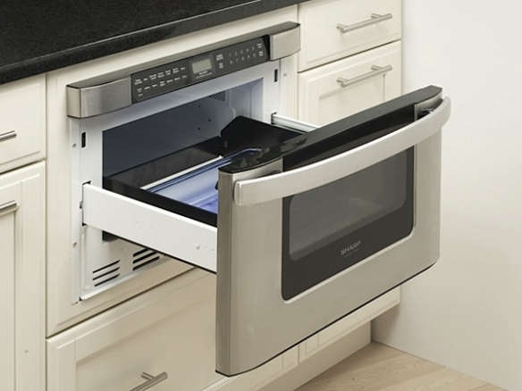 dacor discovery microwave in a drawer