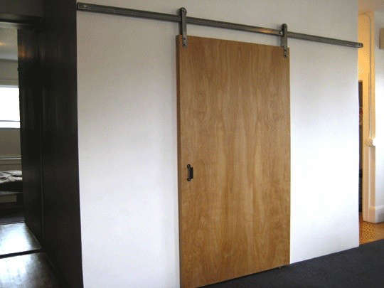 Simple Elegance Sliding Door Hardware From Krown Lab Remodelista