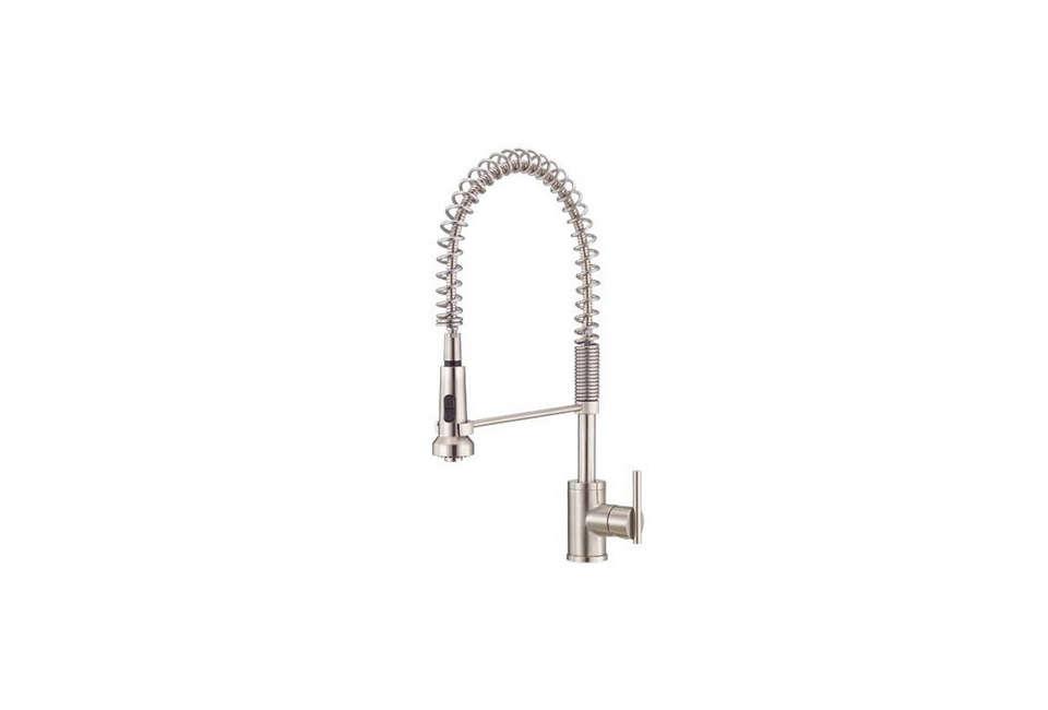 pull down spout bathroom faucet
