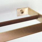 An Ingenious Brass Paper Towel Holder From Germany Glam Edition Remodelista