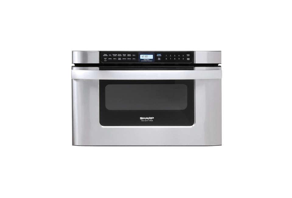 sharp kb6524 stainless steel microwave