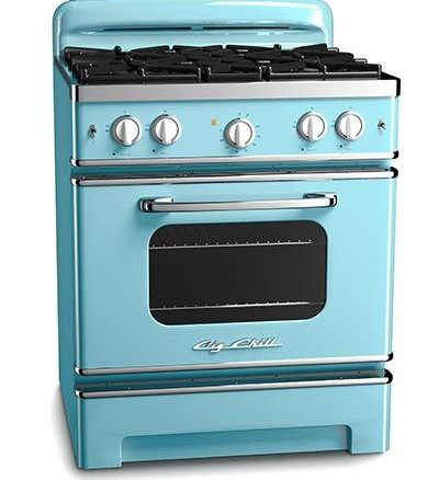 big chill 30 in retro stove