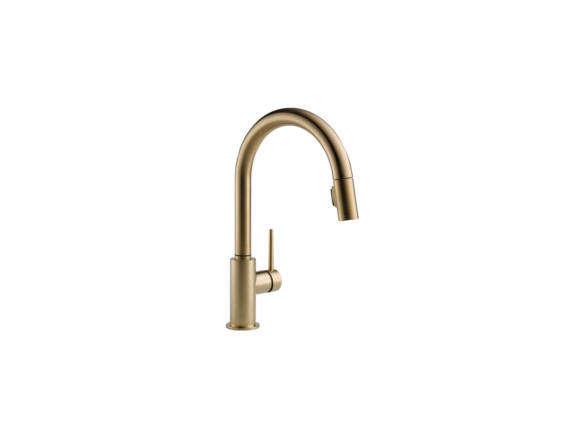 delta trinsic single handle pull down