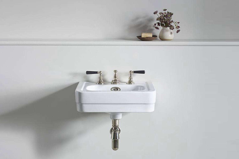 traditional wall mounted bath sinks