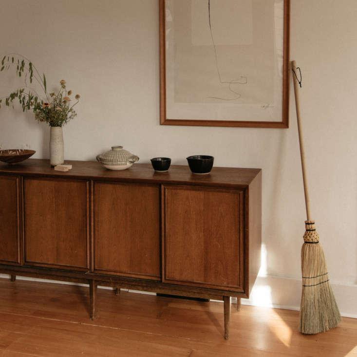 Traditional Handmade Corn Broom by Prairie Breeze Folk Arts Studio via June Home Supply