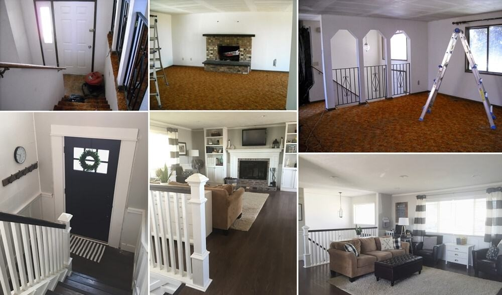 Split Level Remodel Ideas Remodel Or Move | Split Level Entry Stairs | Raised Ranch | Tri Level | Modern | Knee Wall | Entrance