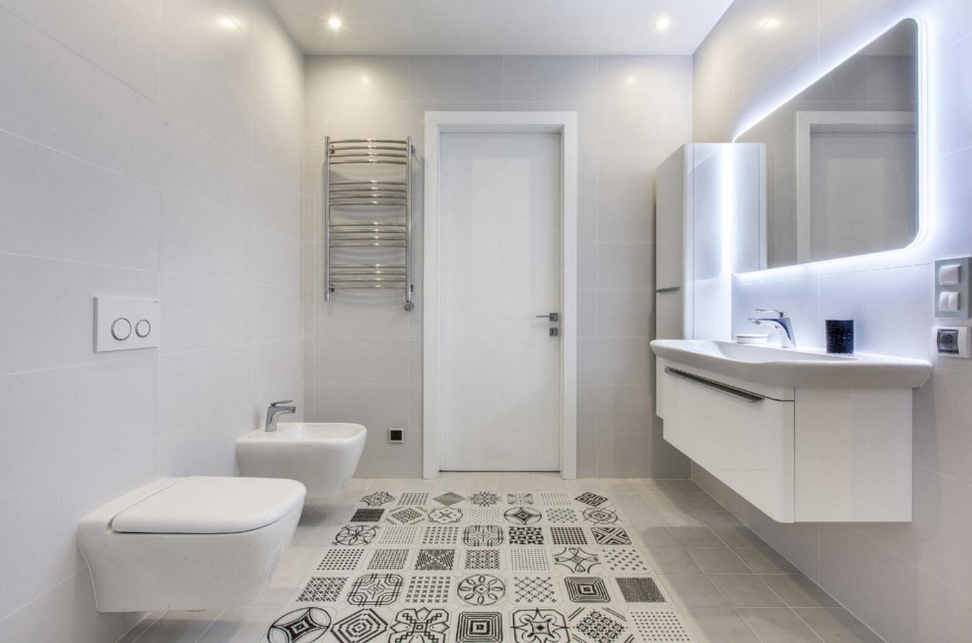 дизайн ванной комнаты совмещенной с туалетом фото 2