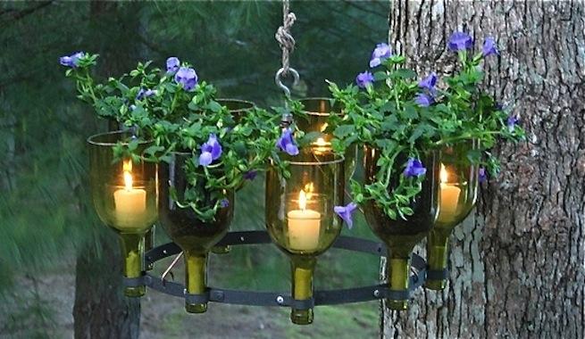 Bunga dan lilin