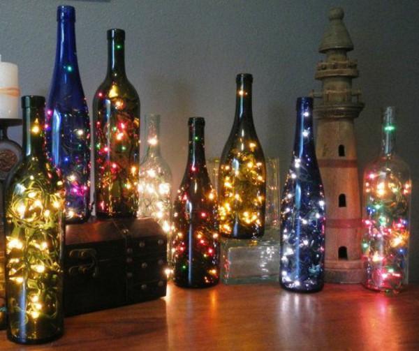 Pencahayaan dalam botol
