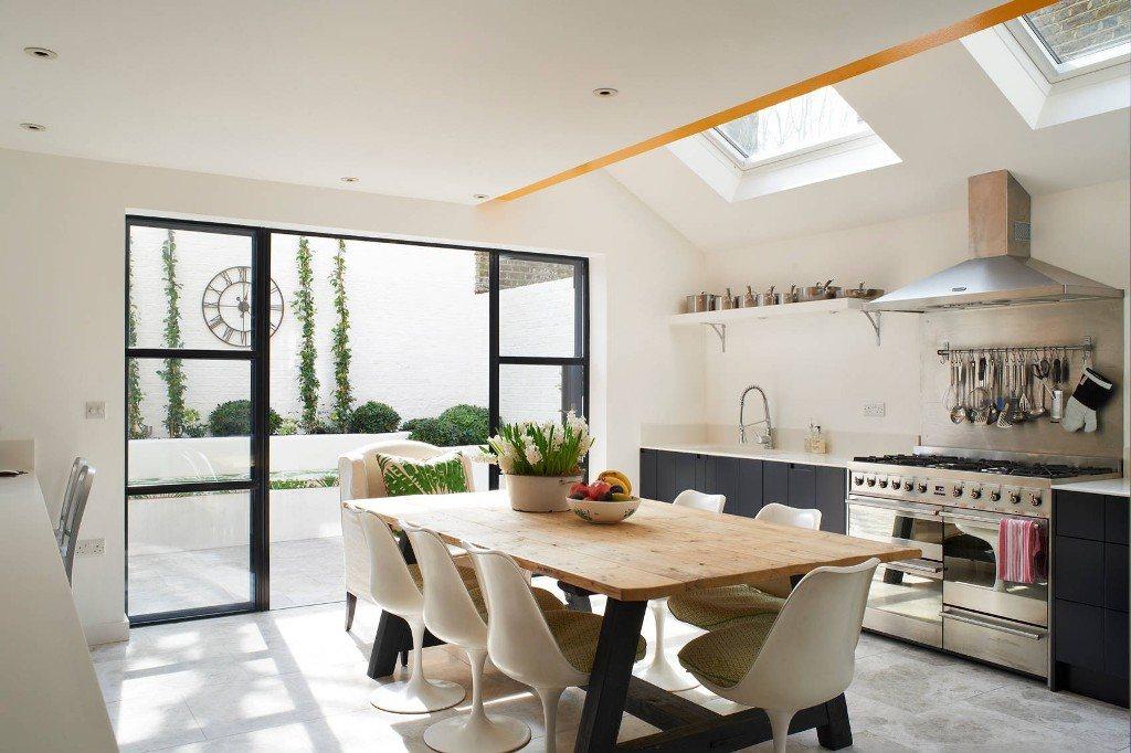 дизайн кухни гостиной 40 квадратных метров 5