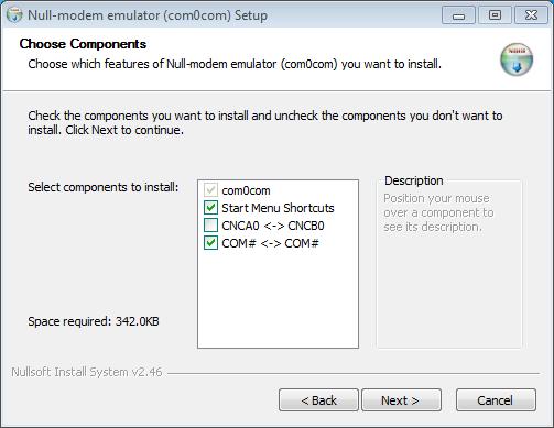 com0com install