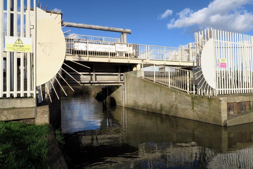 The Beam Parklands flood prevention sluice