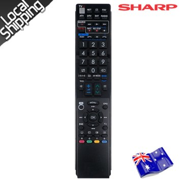 sharp remote