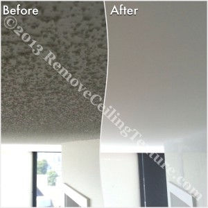Popcorn Ceilings: Bedroom ceiling renovations at 2628 Ash Street, Vancouver
