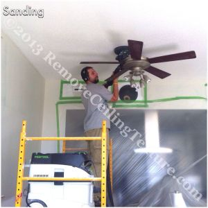 The Festool sander is German engineered for the wall and ceiling industry
