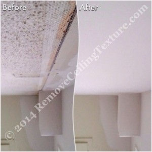 Asbestos in Popcorn Ceilings: Ceiling repair and smooth ceilings in North Vancouver