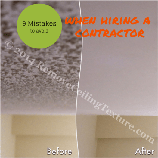Avoid these potentially costly mistakes when hiring a contractor