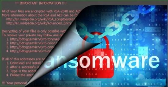 supprimer SureRansom lockscreen ransomware