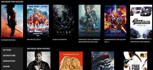 Anzeigen von Movie2k