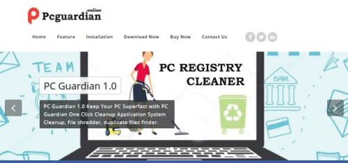 Deinstallieren PC Guardian Registry Cleaner