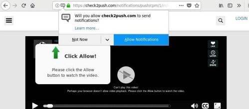Supprimer Check2push.com