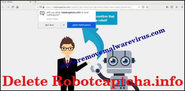 Elimina Robotcaptcha.info