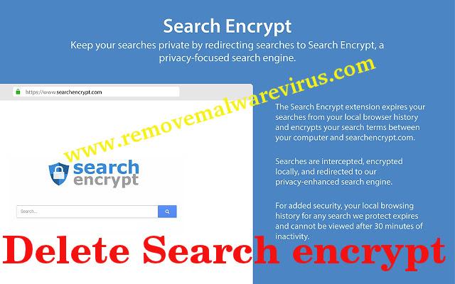 Supprimer la recherche chiffrer