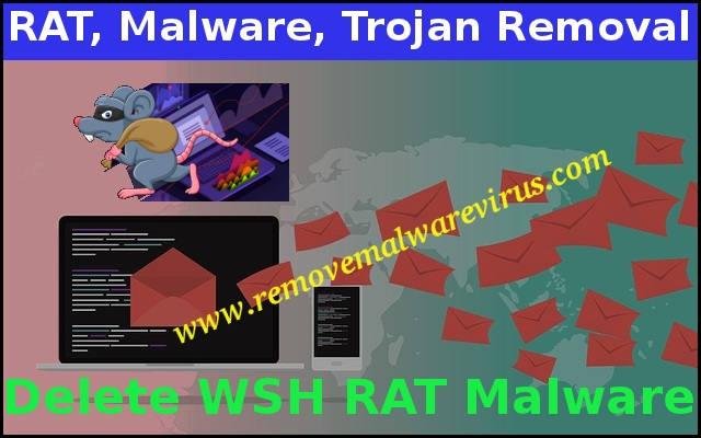 Elimina malware RAT WSH