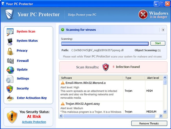 Your PC Protector