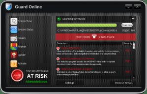 Remove guard online