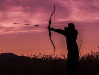 Watch the flight of the arrow
